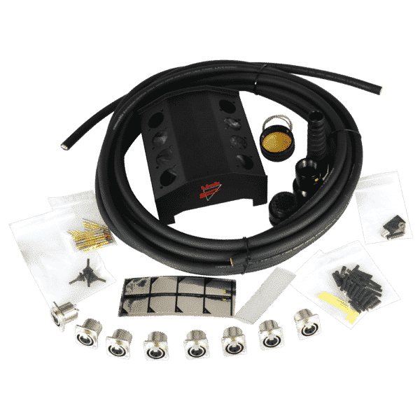 Image of 08ch XLR Audio Box Kit with Multipin Extension