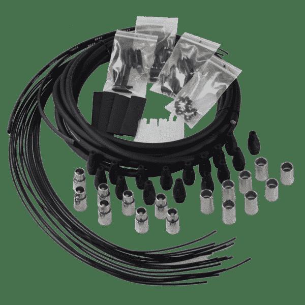 Immagine di Kit Prolunga Audio 8 Canali Con Connettori XLR M 3 Poli