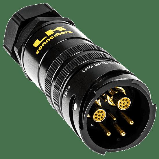 Image of LKG Hybrid Multi-CAT6 + Audio + Power Connectors