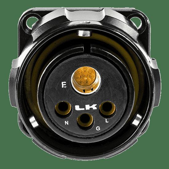 Image of LKG Hybrid CAT6 + Power Connectors