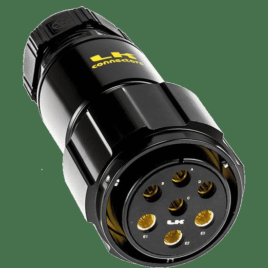 Image of LKG Hybrid Multi-CAT6 + Video Connectors