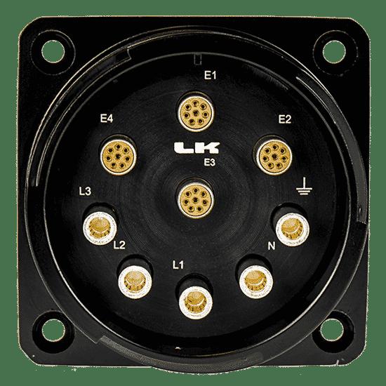 Immagine di Connettori LKG Ibridi Multi-CAT6 + Alimentazione