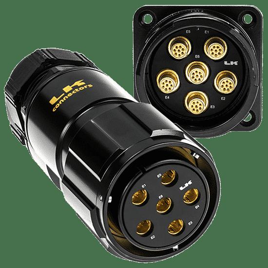 Image of LKG Multi-CAT6 Connectors