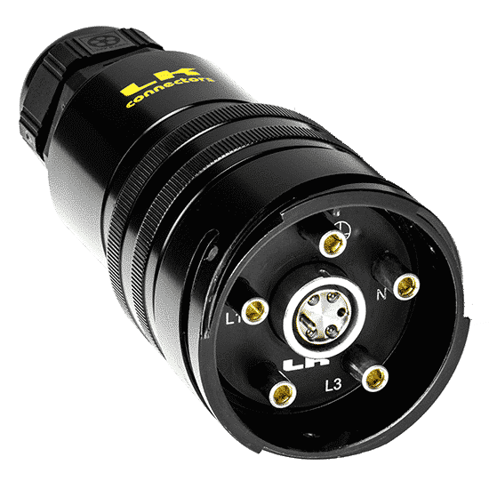 Image of LKO Hybrid Optical + Power Connectors